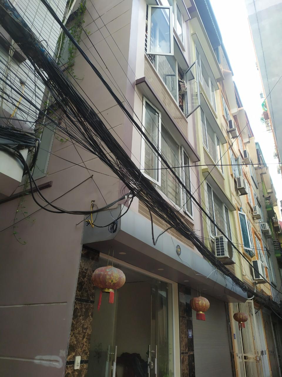 Bán nhà phố Khương Trung, 30/36m, 5T, mt 6m, giá 3.4 tỷ - 0916621470